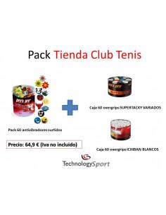 PACK TIENDA CLUB TENIS