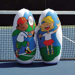 SET OF 2 MINI-TENNIS PLAYERS