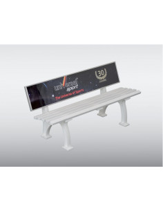 BENCH WIITH COMMERCIAL BRACKET