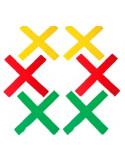 SET DE 6 DIANAS X GRANDES